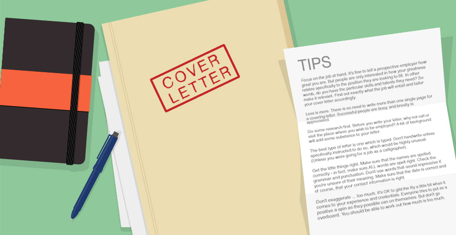 How To Write A Great Cover Letter Career Advice
